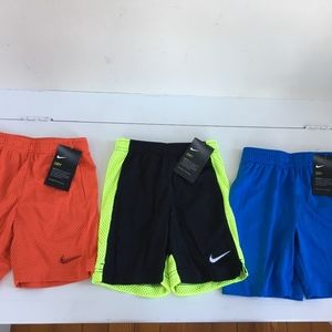 Other - Nike boys lot of athletic gym shorts size 5 new